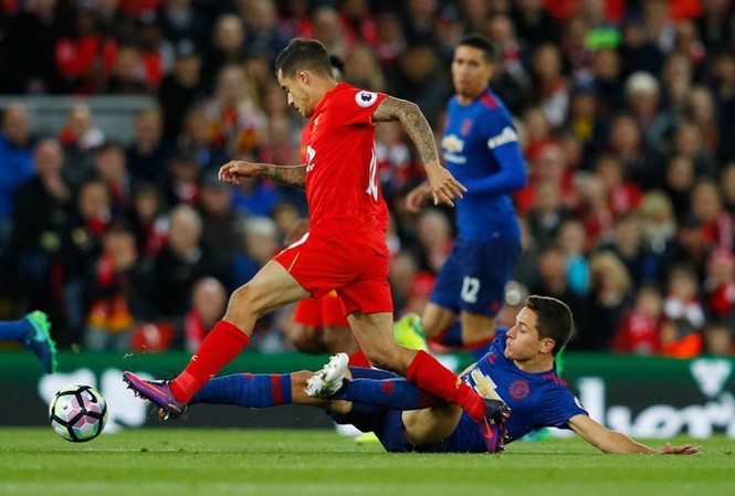 Trận derby nước Anh kết thúc với tỷ số buồn nản 0-0.