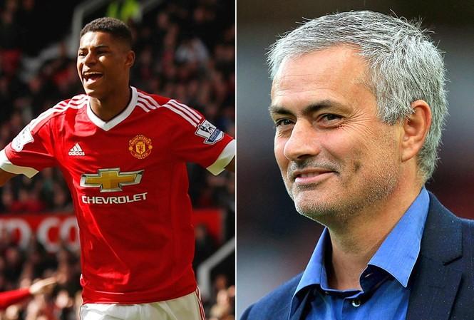 Mourinho tin rằng Marcus Rashford có thể vượt Rooney trong tương lai.