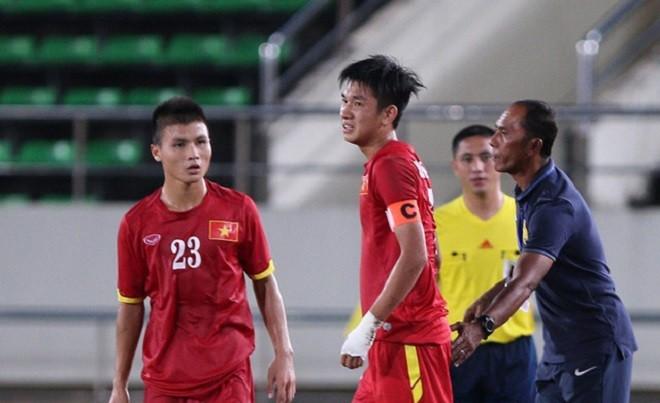 Trọng Đại có nguy cơ lỡ World Cup U20 vì chấn thương.