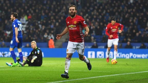 Mata đã có trận đấu xuất sắc trước Leicester City.