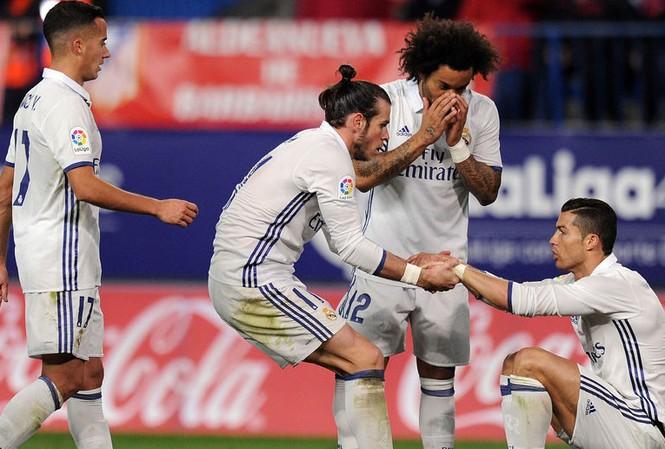 Hàng loạt trụ cột của Real Madrid trở lại sau chấn thương.