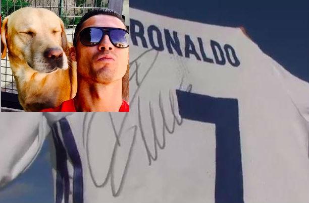 Cristiano Ronaldo rất yêu thương động vật.
