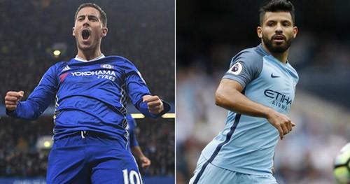 Real chi 160 triệu bảng mua Hazard & Aguero.
