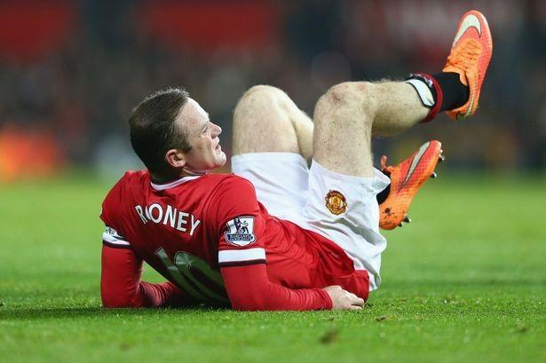 Rooney là gương mặt mới nhất của M.U dính chấn thương.