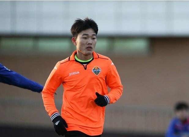 Các đội bóng Hàn Quốc đã để mắt tới Xuân Trường từ khi tiền vệ  này mới 17 tuổi.