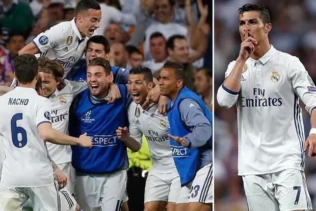 Real Madrid lập kỳ tích 7 lần liên tiếp góp mặt ở bán kết Champions League.