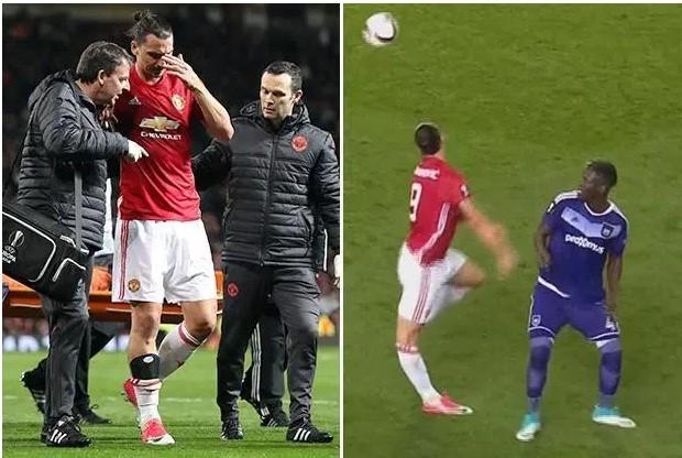Zlatan Ibrahimovic nguy cơ nghỉ hết mùa giải vì chấn thương.