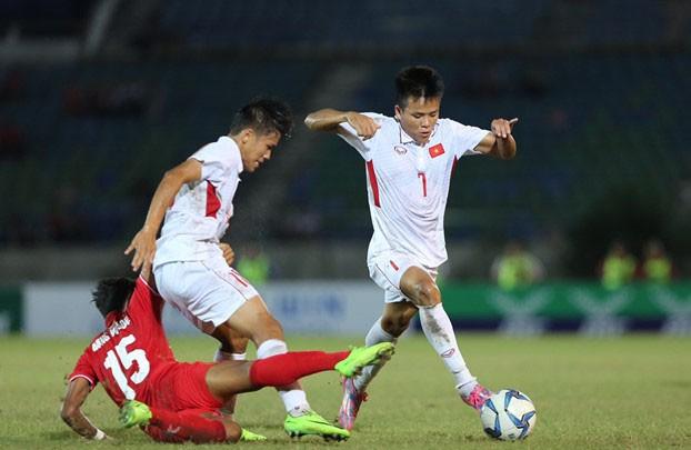 U18 Việt Nam bị loại đau đớn tại giải U18 Đông Nam Á 2017.