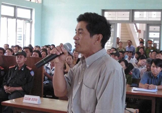 Cựu điều tra viên Cao Văn Hùng (Công an tỉnh Bình Thuận)