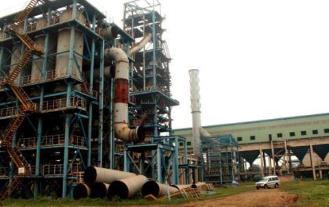 Dự án cải tạo và mở rộng sản xuất giai đoạn 2 - Cty Gang thép Thái Nguyên có mức đầu tư hàng nghìn tỷ đồng. Ảnh: Báo Thái Nguyên