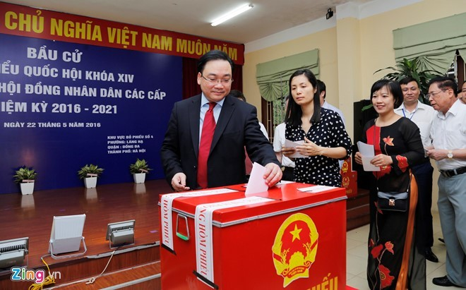 Bầu cử ở Hà Nội