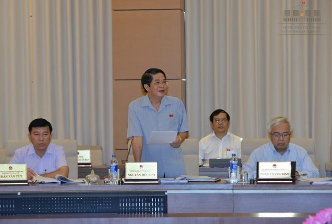 Chủ nhiệm Ủy ban TCNS Nguyễn Đức Hải