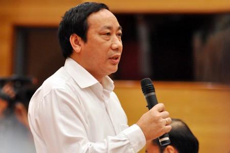 Thứ trưởng Nguyễn Hồng Trường