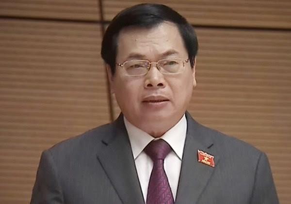 Ông Vũ Huy Hoàng, nguyên Bộ trưởng Bộ Công Thương