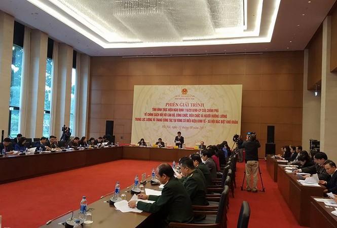 Hội đồng dân tộc của Quốc hội đã tổ chức phiên giải trình sáng 13/1.