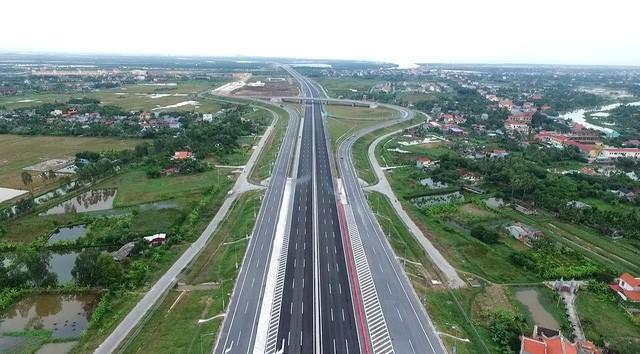 Cao tốc Hà Nội - Hải Phòng (Ảnh DT)