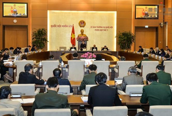 Uỷ ban Thường vụ họp phiên thứ 7