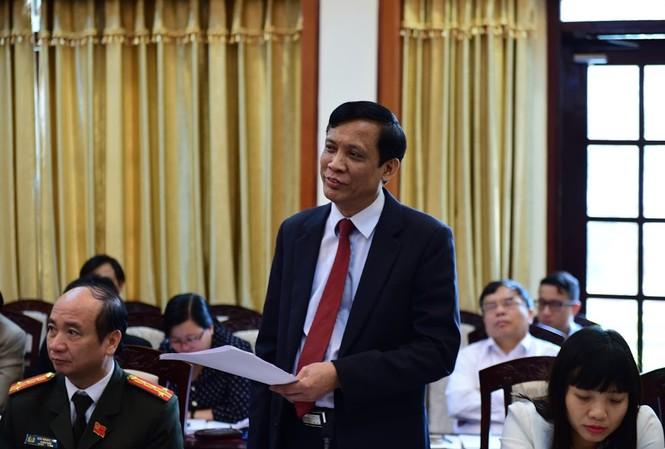 Ông Phạm Văn Tỏ, Giám đốc Sở Nội vụ Hải Dương là một trong hai cán bộ nhận kỷ luật. Ảnh LD