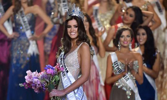 Mỹ nhân Colombia đăng quang Hoa hậu hoàn vũ 2014