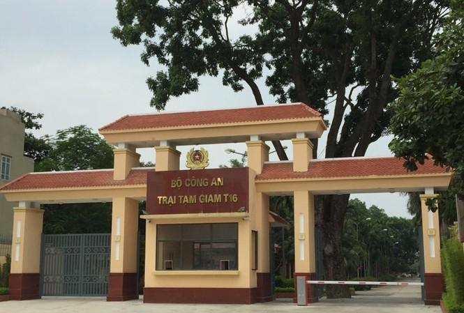 Trại giam T16, nơi hai tử tù đào tẩu. Ảnh: Nguyễn Hoàn