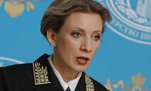 Người phát ngôn Bộ Ngoại giao Nga Maria Zakharova. Ảnh: RT.