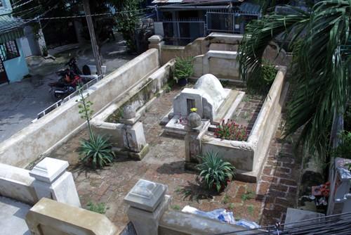 Khu mộ vừa được chỉnh trang của ông Thủ Đức. Ảnh: Sơn Hòa