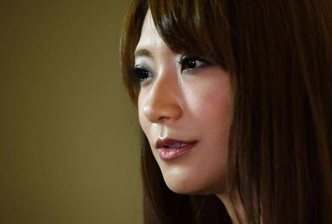 Saki Kozai trong buổi trả lời phỏng vấn AFP.