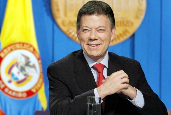 Tổng thống Colombia Juan Manuel Santos - chủ nhân giải Nobel Hòa bình 2016.