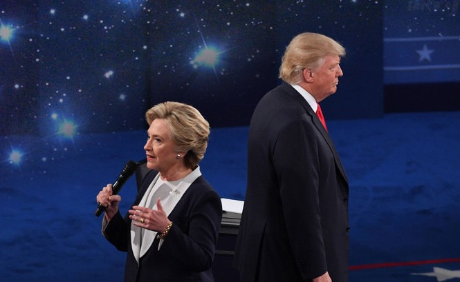 Ứng viên Hillary và ứng viên Trump