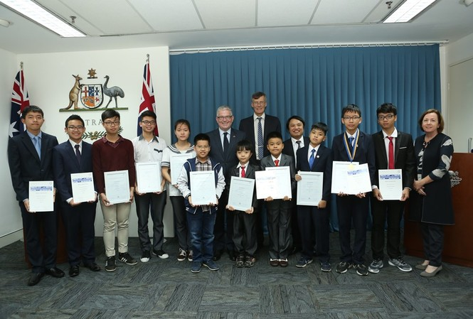 11 thí sinh Việt Nam đạt giải tại cuộc thi toán Australia.