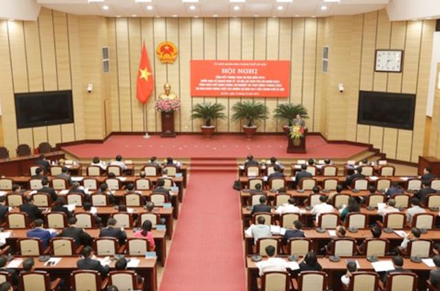 Hội nghị tổng kết phong trào thi đua năm 2016 và phát động thi đua năm 2017. Ảnh Phú Khánh