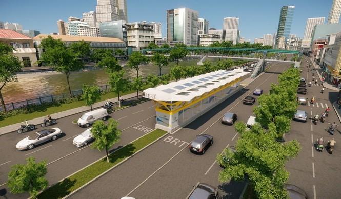 TPHCM: Xe buýt nhanh, triển khai chậm