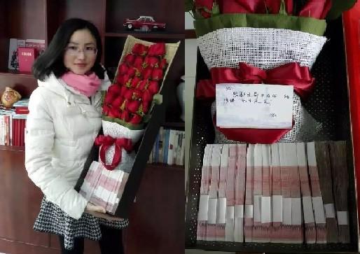 'Soái ca' tặng vợ hộp hoa hồng giá nửa tỉ đồng dịp Valentine