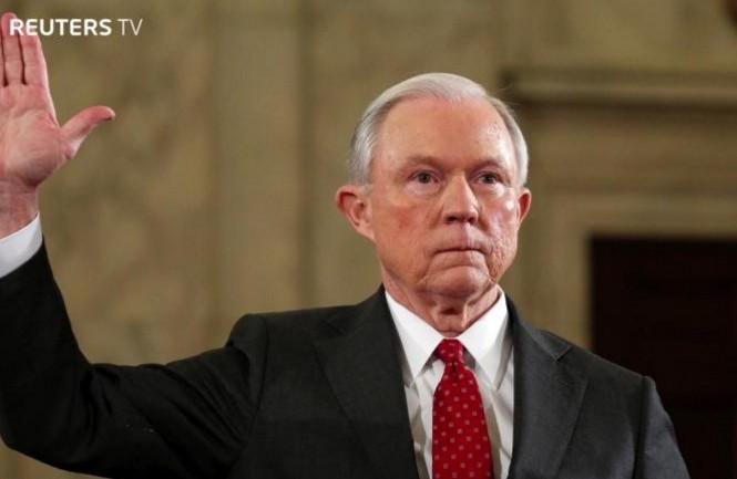 Tân Bộ trưởng Bộ Tư pháp Mỹ Jeff Sessions.