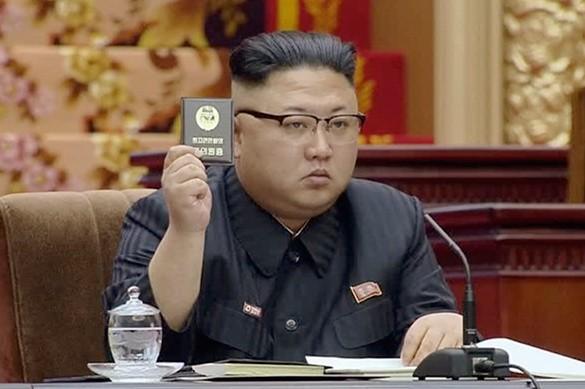 Chủ tịch Triều Tiên Kim Jong-un. Ảnh: AP