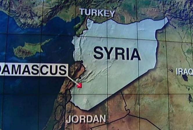 Vị trí được cho là nơi quân đội Mỹ không kích ngày 18/5. Ảnh: Fox News