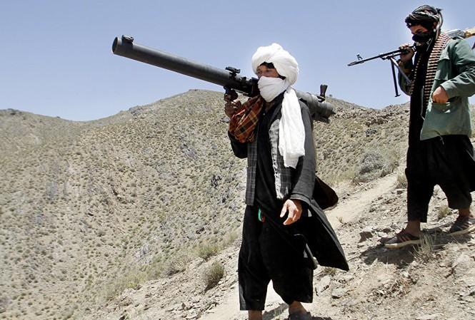 Phiến quân Taliban tại Afghanistan. Ảnh: AP