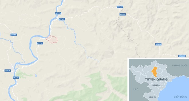 Cầu đang thi công ở khu du lịch Tuyên Quang bất ngờ sập, ba người mất tích