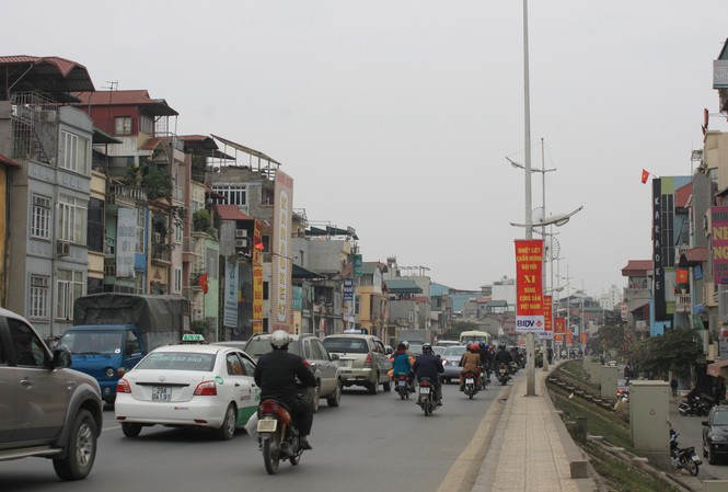 Bộ NN&PTNT thống nhất đề xuất hạ thấp đê Nghi Tàm của TP Hà Nội