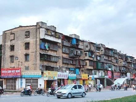 Cải tạo chung cư cũ vẫn là bài toán nan giải với Hà Nội.