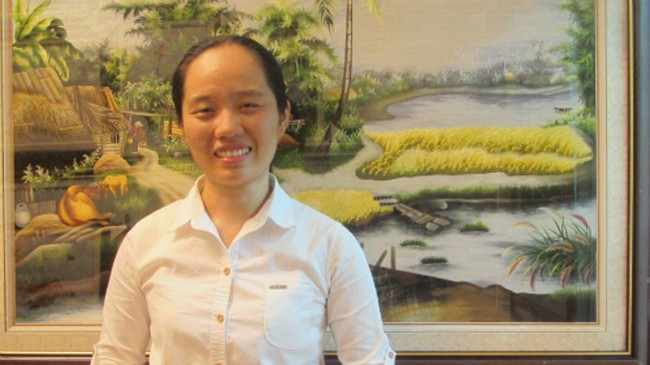 Trần Thị Như Ý tạm gác con đường đại học để thực hiện niềm đam mê cho tranh thuê.