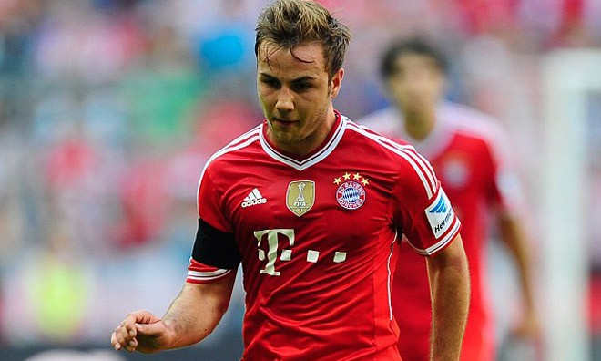 Cậu em Felix của Mario Gotze cũng đã gia nhập Bayern Munich.
