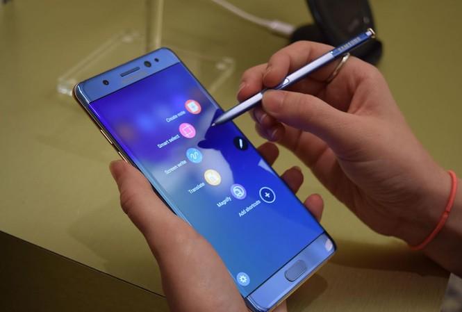 Còn 493 sản phẩm Galaxy Note 7 chưa được thu hồi
