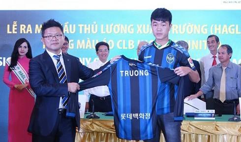 Cho đến ngày ký hợp đồng với Incheon United, Xuân Trường vẫn còn chưa hết ngạc nhiên