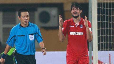 Than Quảng Ninh 'khởi kiện' trọng tài, tố bị mất penalty