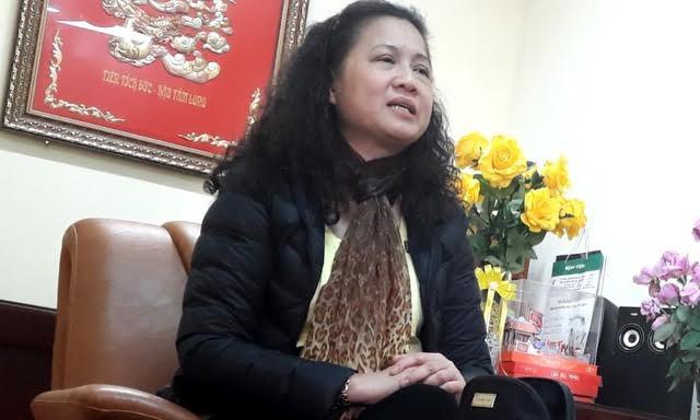 Hiệu trưởng trường tiểu học Nam Trung Yên