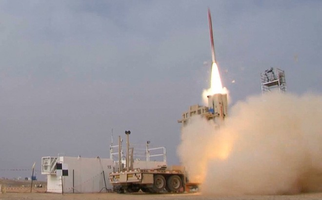 Hệ thống phòng thủ tên lửa David's Sling.