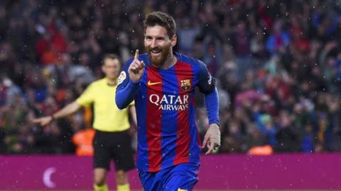 Messi ghi 51 bàn kể từ ngày nuôi râu quai nón
