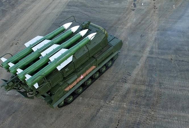 Syria muốn hệ thống Buk của Nga để chống tên lửa Mỹ