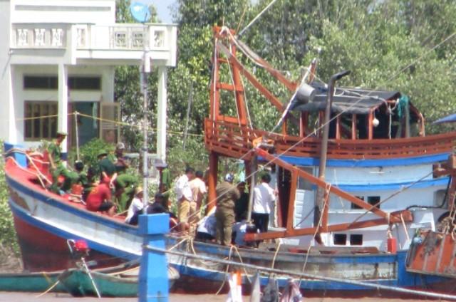 Phòng Cảnh sát đường thủy xác định, tài công Doãn Thanh Nam không đủ điều kiện điều khiển loại tàu bị nạn.